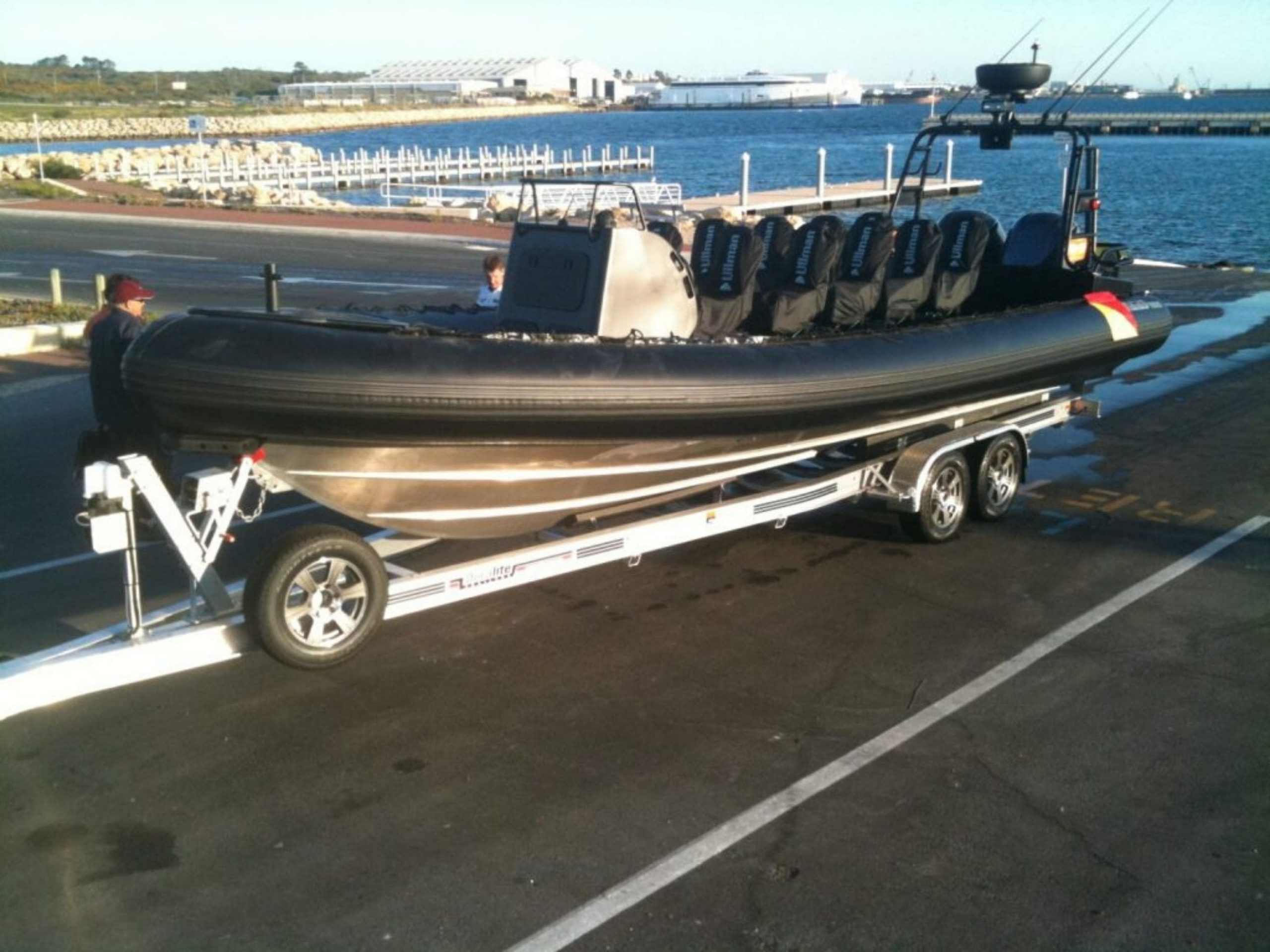 light weight boat trailer - Duralite Trailers